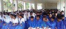 আলী আছিয়া উচ্চ বিদ্যালয়ের জেএসসি পরীক্ষার্থীদের দোয়া অনুষ্ঠান