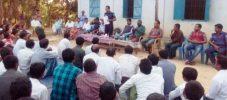 বাইশারীতে মার্মা সম্প্রদায়ের সাথে পুলিশের মতবিনিময় সভা