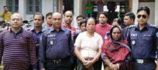 বান্দরবানে গাঁজাসহ ২ নারী আটক