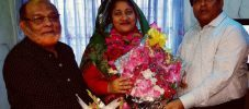 আশরাফ জাহান কাজল বিনা প্রতিদ্বন্দ্বিতায় জেলা পরিষদের সদস্য নির্বাচিত