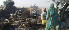 নাইজেরিয়ায় 'ভুল করে' বোমা হামলায় নিহত শতাধিক