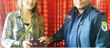 ফ্রান্সের নাগরিকের হারানো পাসপোর্ট উদ্ধার করলেন এএসপি রায়হান কাজেমী