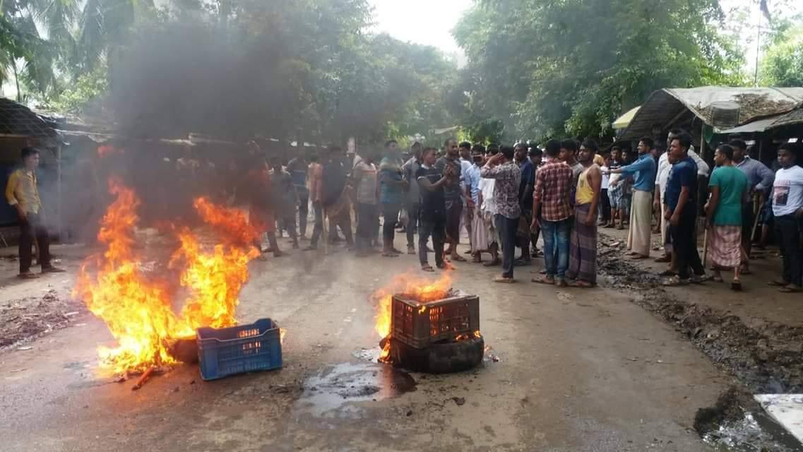 Image result for ক্যাম্প ভাংচুর করলো স্থানীয়রা
